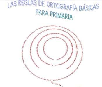Cuadernillo de reglas de ortografíaEjercicios para Primaria