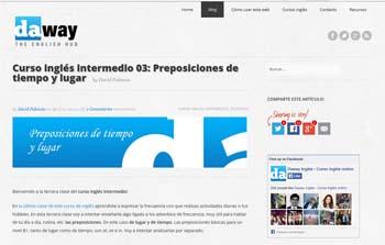 Daway, páginas para estudiar Inglés