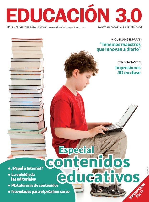 ¡Número 14 de la revista Educación 3.0 y versión digital reducida! 5