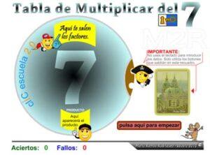 45 juegos interactivos para repasar las tablas de multiplicar 4