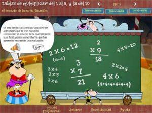 45 juegos interactivos para repasar las tablas de multiplicar 7