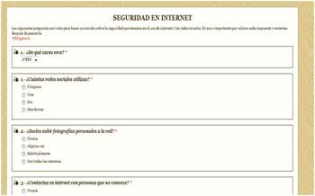 Tutoría para Secundaria:  'Con sentido común en Internet y redes sociales' 1