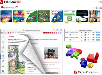 EduBook3D, el libro digital de Vicens Vives