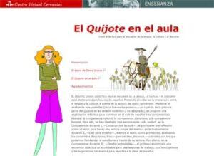 El Quijote en el aula