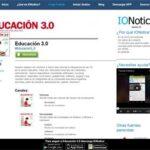Educación 3.0, disponible en la app IONotice