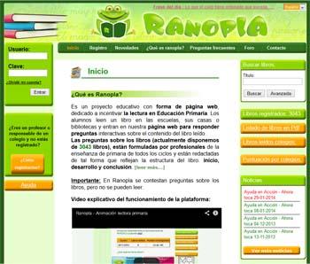 Ranopla, un método on line para fomentar la lectura en Primaria