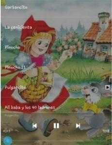 Audio cuentos para niños - apps cuentos clásicos