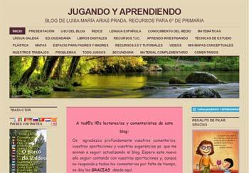 Jugando y aprendiendo, un blog con recursos para el tercer ciclo de Primaria