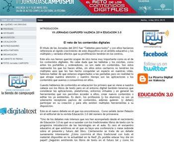 VII Jornadas CampusPDI Educación 3.0, una cita en Valencia