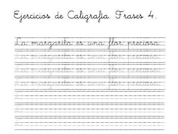 decaligrafía actividades para primaria caligrafía