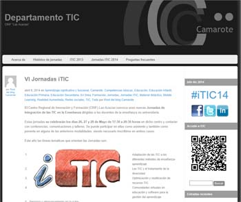 VI Jornadas de Integración de las TIC en la Enseñanza no universitaria en Madrid