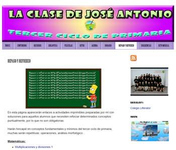 Blog La Clase de José Antonio