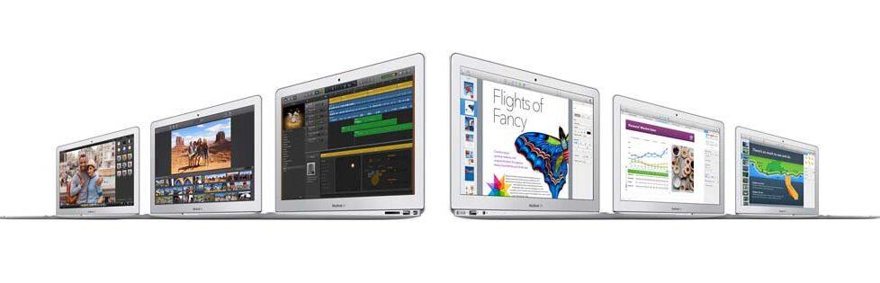 Macbook Air más rápidos y más económicos