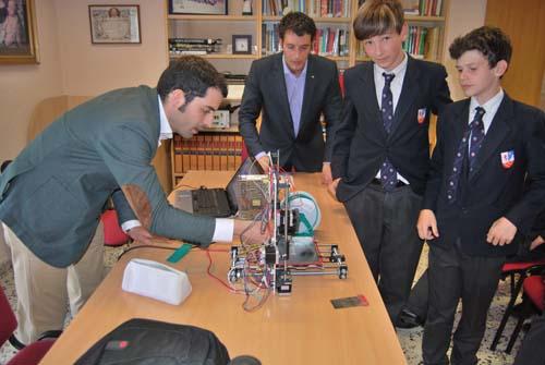 Campus sobre impresión 3D en el Colegio Internacional Peñacorada