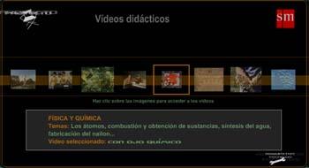 Vídeos didácticos de SM - conocimiento del medio