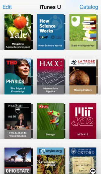 iTunes U, crear y acceder a contenidos educativos 1