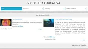 Videoteca Educativa - conocimiento del medio