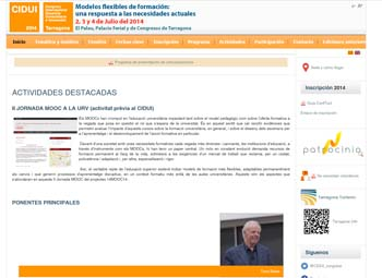 VIII Congreso Internacional Docencia Universitaria e Innovación, un encuentro para debatir