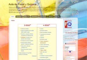 Blogs para la asignatura de Física y Química 5