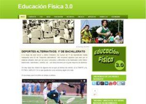 Blogs en español para la asignatura de Educación Física 3