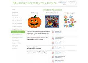 Blogs en español para la asignatura de Educación Física 1