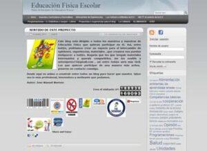 Blogs en español para la asignatura de Educación Física 2