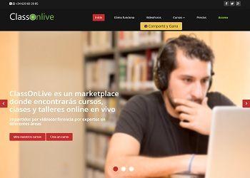 ClassOnLive - formación online