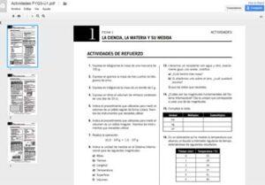 Blogs para la asignatura de Física y Química 4
