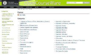 OpenCourseWare Universidad Carlos III de Madrid