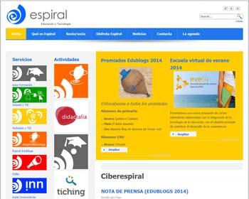 Escuela virtual de verano de la Asociación Espiral, Educación y Tecnologíal