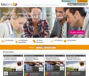 Eduland, una nueva comunidad on line para docentes