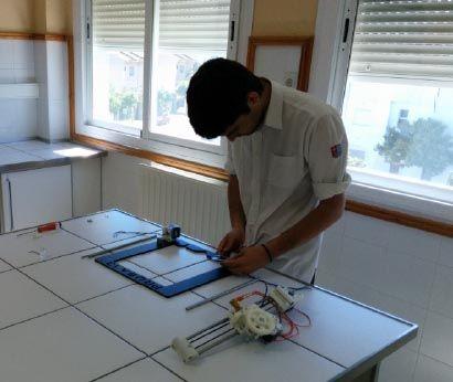 Construyendo una impresora 3D en clase