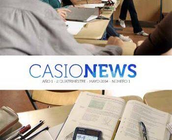 'Casio News', la revista de matemáticas para la educación