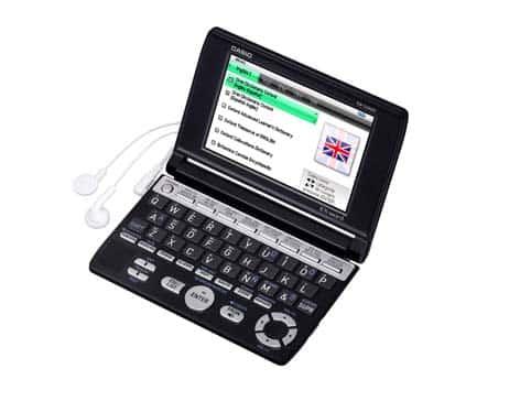 Casio EX-word S400E, para traducir, consultar palabras y definiciones