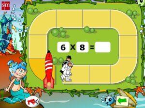 45 juegos interactivos para repasar las tablas de multiplicar 9