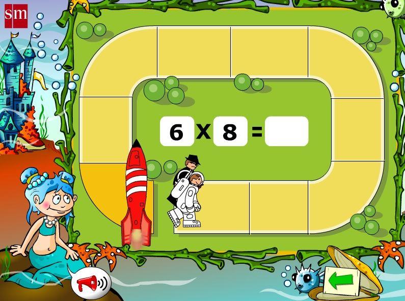 Grand Prix Multiplcation >> Juegos de Tablas de Multiplicar para aprenderlas y repasarlas