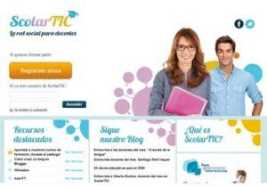 ScolarTIC Comunidades on line para el ámbito educativo