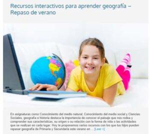 10 recursos educativos para repasar este verano 2