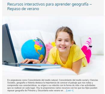 Blog de aulaPlaneta - recursos educativos