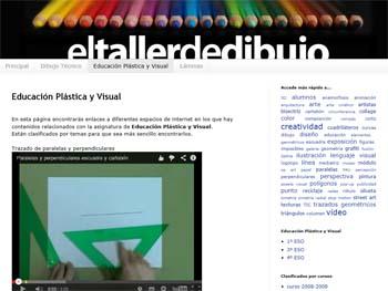 El taller de dibujo Educación Plástica