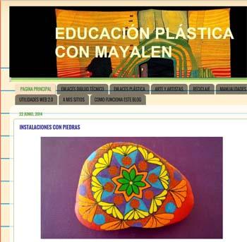 Educación Plástica con Mayalen