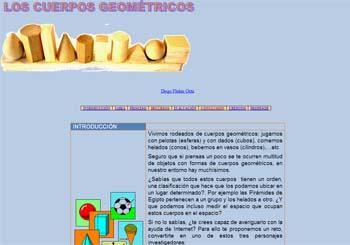 los cuerpos geométricos: recursos de geometría