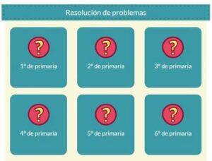 10 recursos para trabajar problemas de Matemáticas en Primaria 10