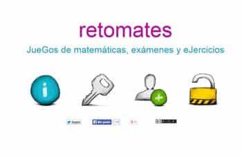 Retomates: Recursos, juegos, actividades...