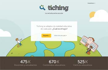 Tiching, una red educativa con miles de recursos 1