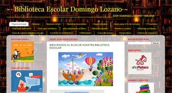 Biblioteca escolar del CEIP Domingo Lázaro (Málaga)