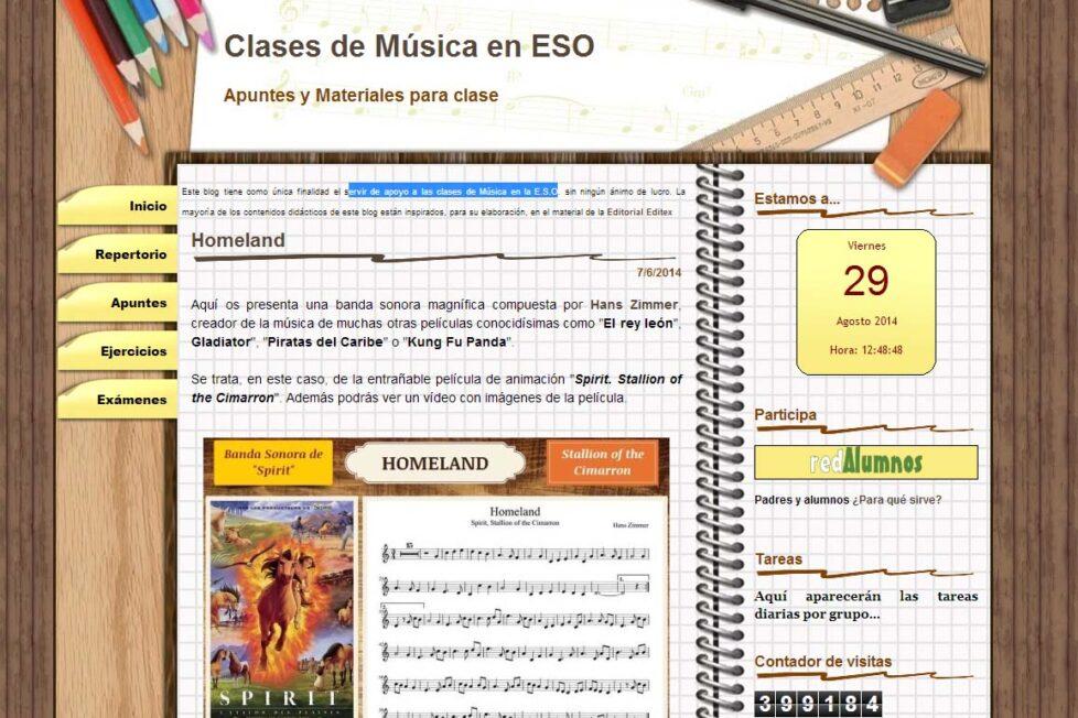 Un blog de música para el primer ciclo de ESO