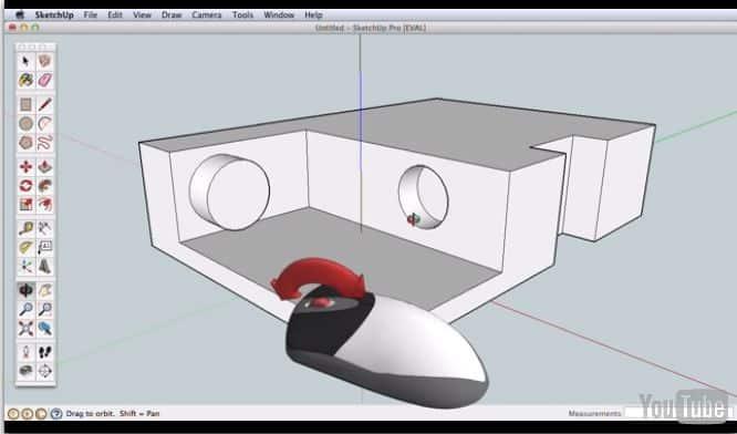 3D con Google SketchUP
