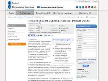 La Universidad de Barcelona prepara a los docentes para diseñar y editar materiales digitales