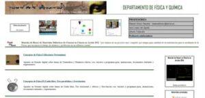 Blogs para la asignatura de Física y Química 16